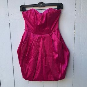 Speechless Hot Pink Formal Homecoming Prom Dress